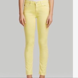 AG Stilt Yellow Jeans -Sz 32